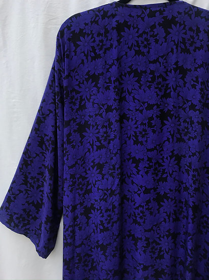 Maxi Flo Robe - Pansy Purple