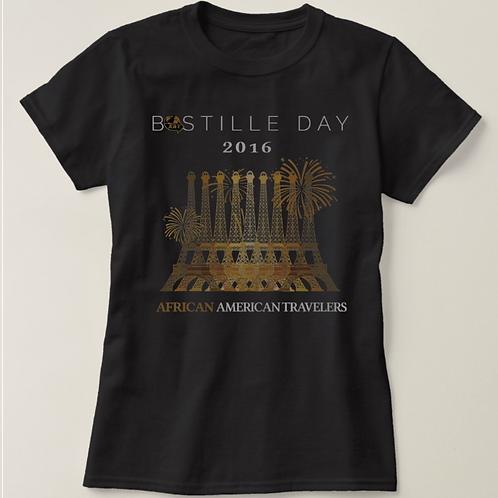 Women's Bastille Day in Paris T-Shirt