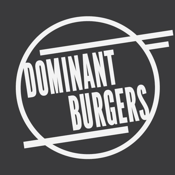 dominant burgers logo