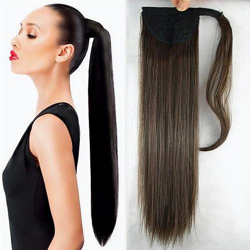 Luxury ponytail, long ponytail, extension ponytail