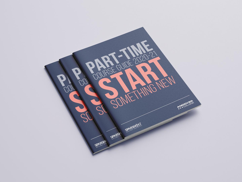 SCG Part-Time Course Guide Brochure stac