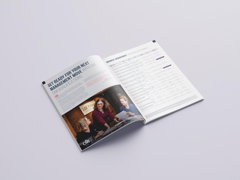 SCG Part-Time Course Guide Brochure insi