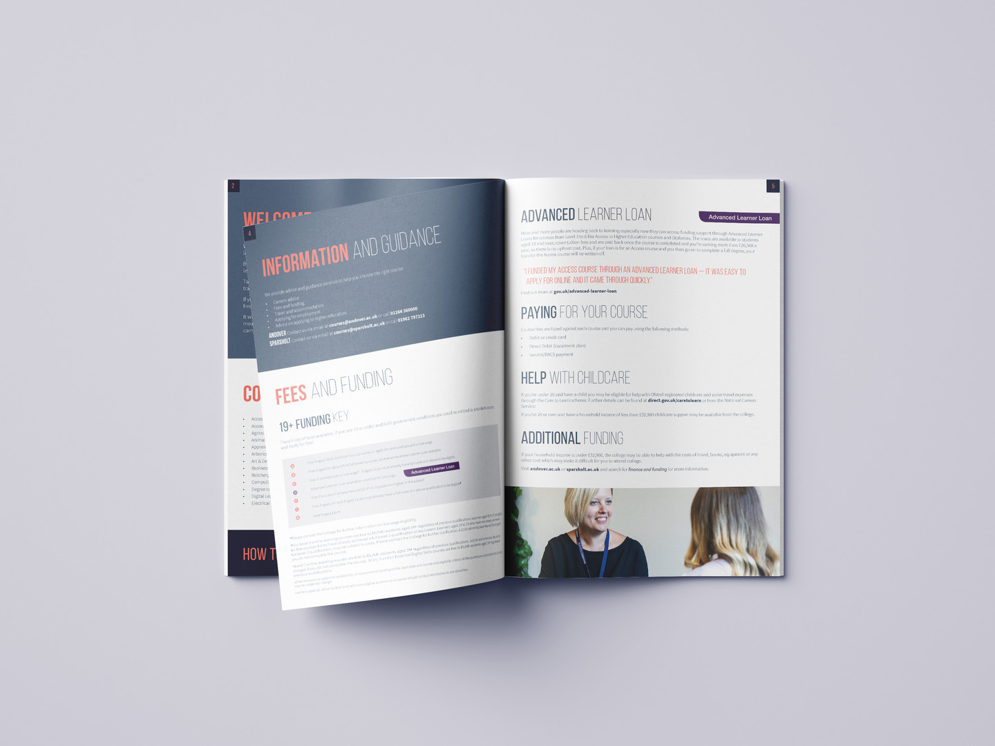 SCG Part-Time Course Guide Brochure insi