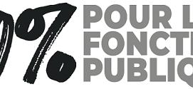 10 % pour la Fonction publique
