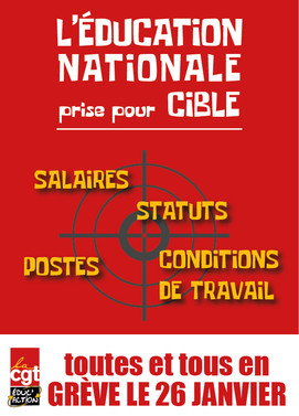 Éducation nationale : grève pour de meilleures conditions de travail