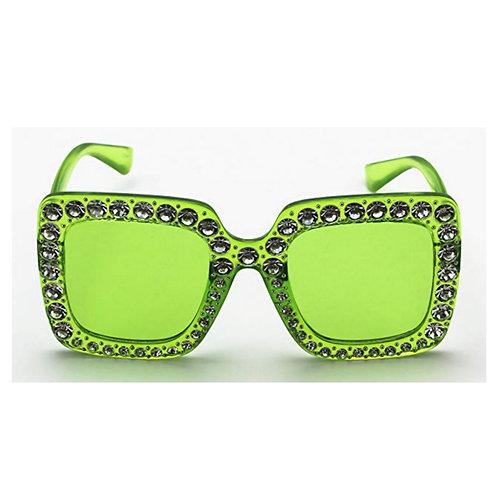 Green Bling Shades