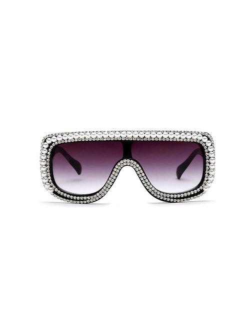 Pearl Rhinestone Sunglasses