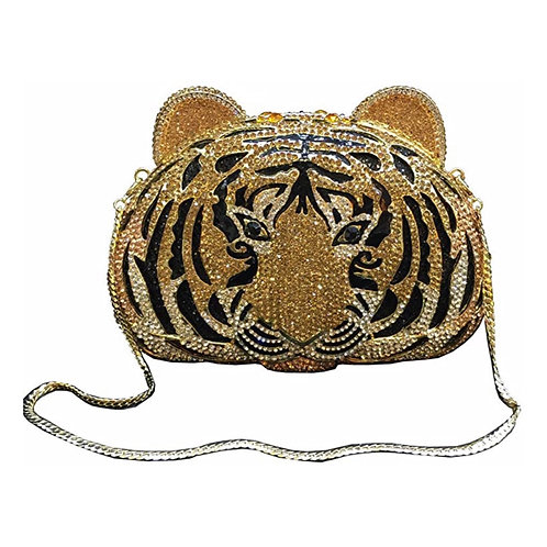 Tiger Blinged Out Purse