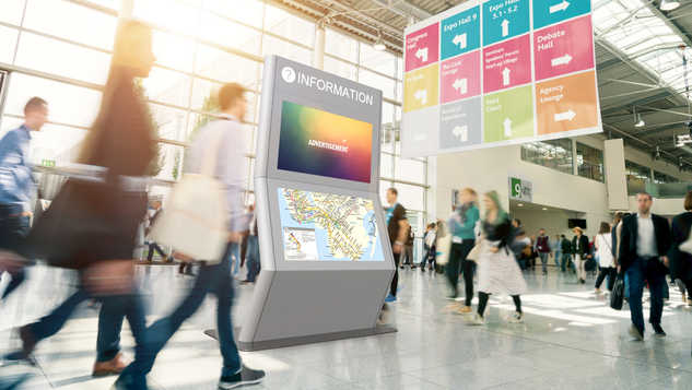 Interactive Wayfinding Display