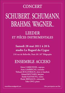 Concert Paris 28 mai 2011