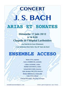Concert Paris 17 juin 2012