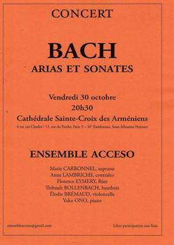 Concert Paris 30 octobre 2009