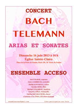 Concert Paris 16 juin 2013