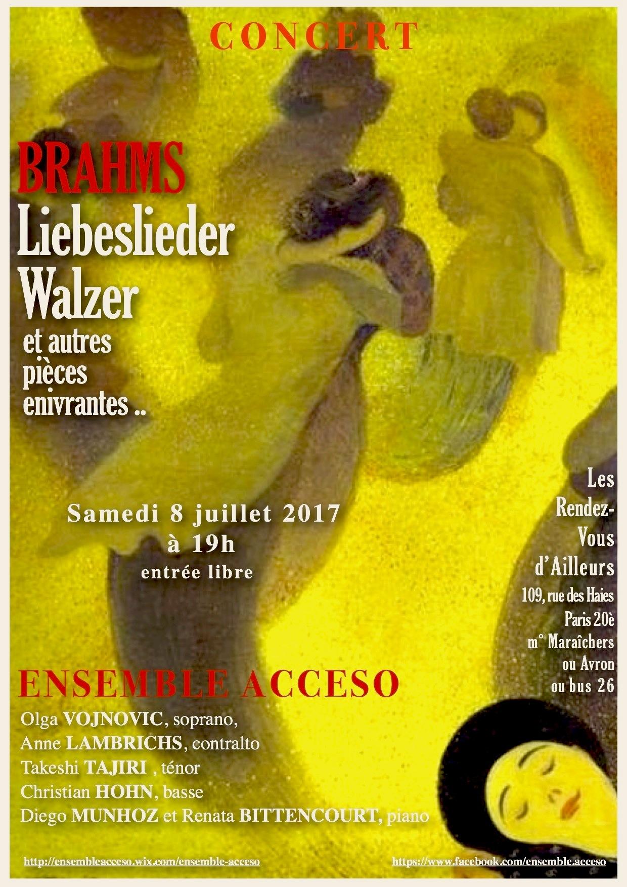Affiche Acceso 8 juillet 2017