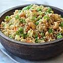 Fried Rice with King prawns pork or chicken