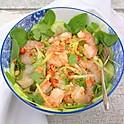 Yum Goong (king prawn salad)