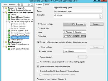Windows 10 Upgrade error 0xC1900204 - 1709 Incorrect or not provided product key