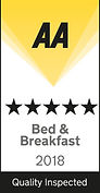 Tyndale B&B 5 star Bed & Breakfast 2017