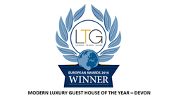 Tyndale Torquay - Modern Luxury Guest House of the year 2018 - Devon