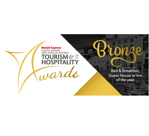 Bronze B&B of the year - Tyndale B&B Torquay