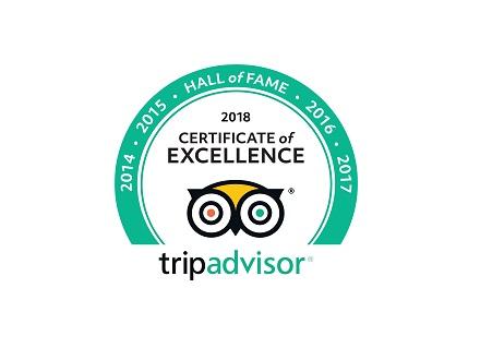 TripAdvisor 2018 - Hall of Fame