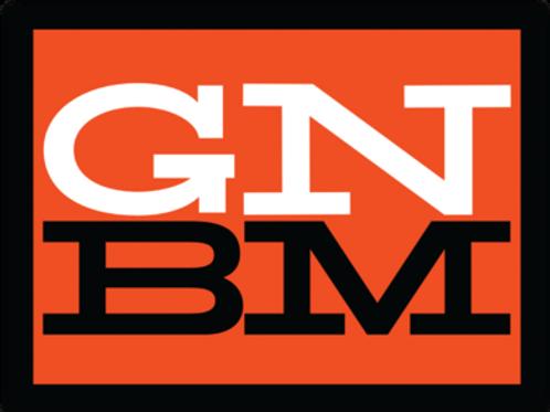 """GNBM Sticker - 4"""" x 3"""""""