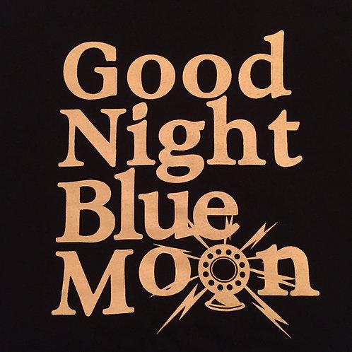 Goodnight Blue Moon T-shirt - BLACK