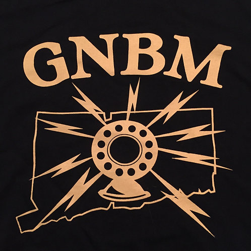 GNBM Radio CT T-shirt -NAVY BLUE