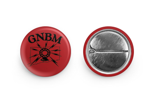 GNBM Radio Logo Pin - 1""