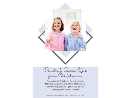 Dental Care Tips for Children
