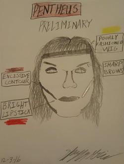 Pentheus Makeup prelim