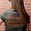 Thumbnail: Strong In The Lord Women's Tee- Camo & Orange