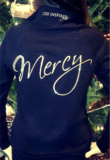 Mercy Women's Cadet Jacket- Black w/Gold