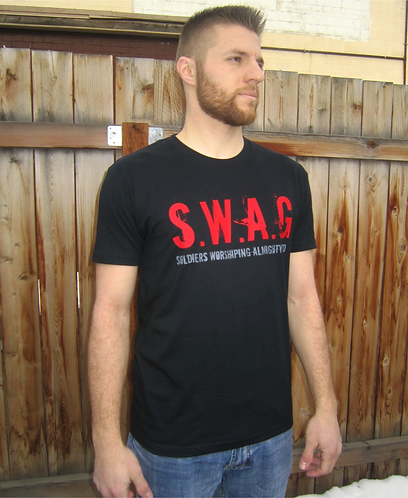 S.W.A.G. Soldiers Worshiping Almighty God T-shirt