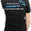 Thumbnail: The Lord Is Close To The Brokenhearted Women's Tee- Black