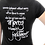 Thumbnail: Mercy Triumphs Over Judgment Women's Christian Tee