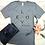Thumbnail: Love Never Fails Women's Christian T shirt- Heather Gray