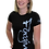 Thumbnail: Forgive Women's Christian Tee- Black