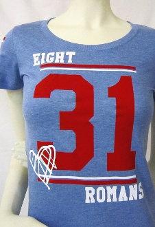 ROMANS 8:31 Women's Athletic Tee