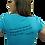 Thumbnail: Faith V-Neck Christian T Shirt- Turquoise