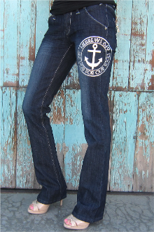 Anchor For Our Souls Jeans