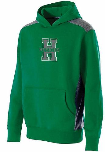 Unisex Adult Green Hoodie