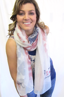 Be Still And Know That I Am God Flag Scarf