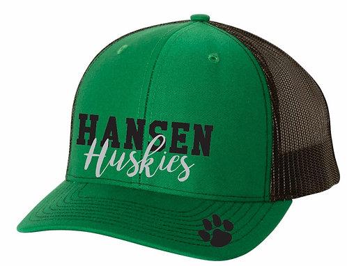 Hansen Huskies Trucker Hat w/Glitter