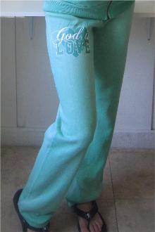 God Is Love Sweatpants- Jade