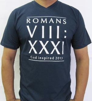 If God Is For Us Men's V-neck T-shirt