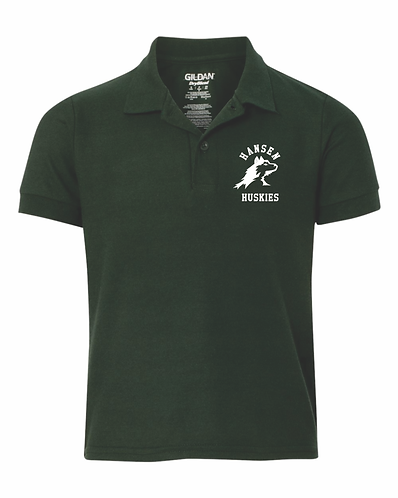 Youth Hansen Forest Green Polo