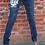 Thumbnail: He Only Is My Rock Women's Skinny Jeans
