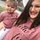 Thumbnail: Faith Over Fear Infant/Toddler Christian T shirt- Heather Mauve