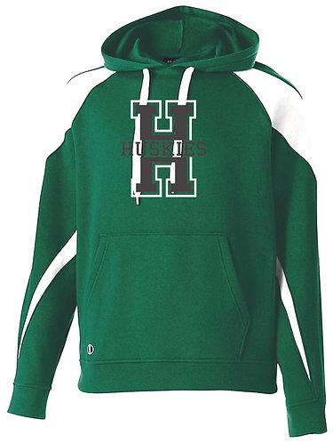 Youth Hansen Huskies Dk Green Hoodie